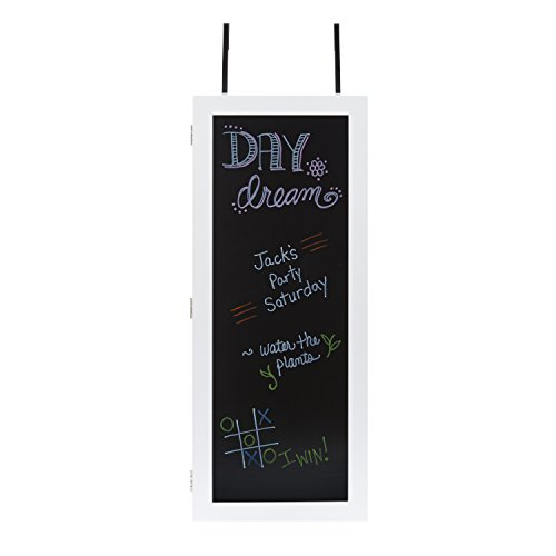 InnerSpace Luxury Products Wall Cabinet Organizer with Chalkboard - White by InnerSpace Luxury Products