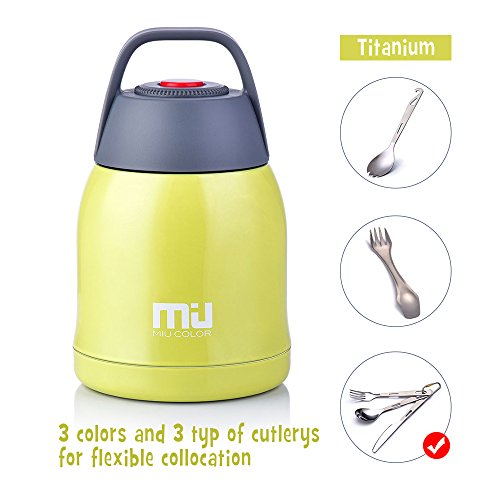 MIU COLOR Double-Wall Vacuum Insulated Stainless Steel Food