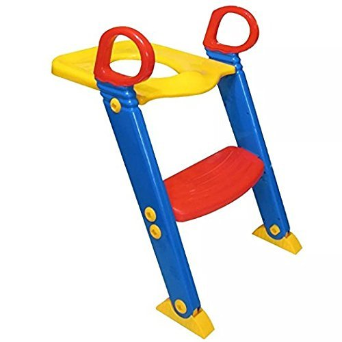 LOZ Baby Ladder Toilet Ladder Chair Toilet Trainer Potty Toilet Seat Step up Toddler Toilet Training Step Stool for Girls and Boys