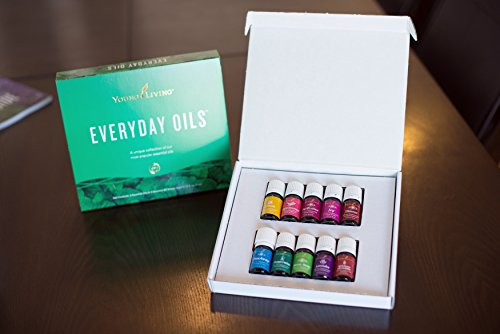 Young Living Everyday Oils Collection - 10 Oils/5ml (Everyday Starter Kit)