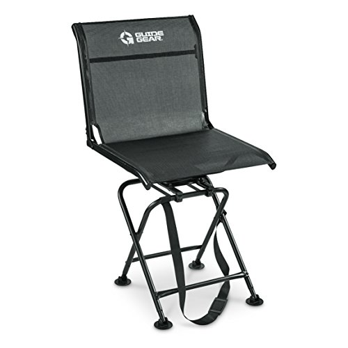 Guide Gear Big Boy Oversized 360 Degree Swivel Hunting Blind Chair 500-lb. Capacity