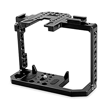 Image of SMALLRIG Camera Cage for Canon EOS 80D with NATO Rail, Cold Shoe - 1789