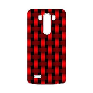 Bright red braiding pattern Phone Case for LG G3