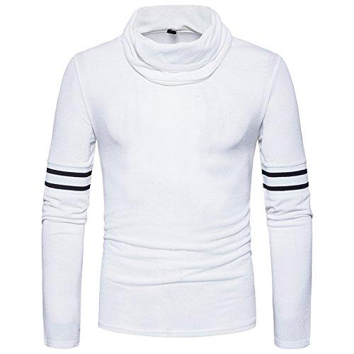 Männer - pullis im frühjahr und herbst hinter bergen von alkohol pullover collar pullover,weiße,s