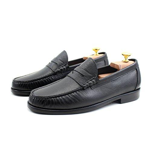 Giorgio Rea Uomo Scarpe Nero Uomo Scarpe Elegante Richelieu Cuir Classico Lace Up Vera Pelle Di Vitello Oxfords In Vera Pelle Brogue Gentlemen Black