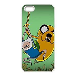 iPhone 5 5s Cell Phone Case White Jake And Finn OJ394655