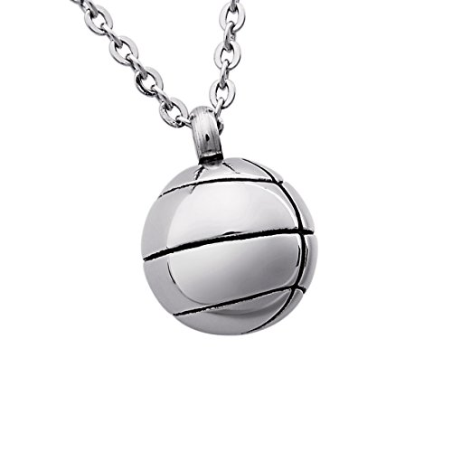 SG Cremation Urn Jewelry Basketball Pendant for Ashes Necklace