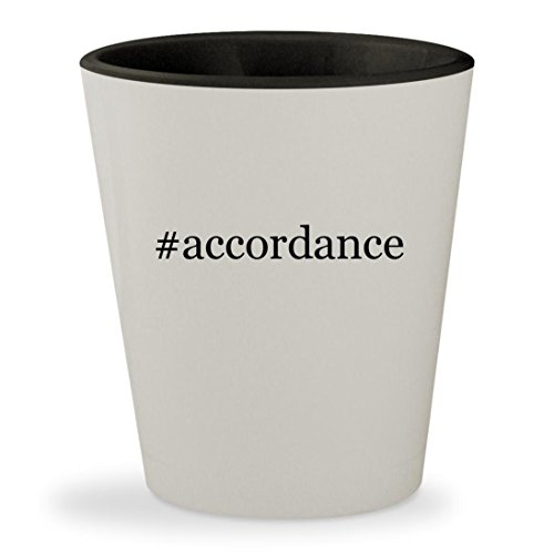 #accordance - Hashtag White Outer & Black Inner Ceramic 1.5oz Shot - 2000 Converter 2001 2002 Catalytic