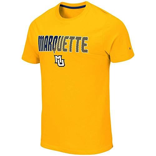 Colosseum Mens Marquette Golden Eagles Yona Short Sleeve Tee Shirt - L