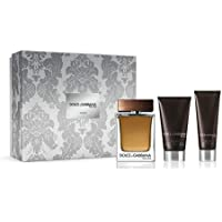 Dolce & Gabbana D & G The One 100ml EDT + 75 ml Aftershave + Shower Gel, 50 ml