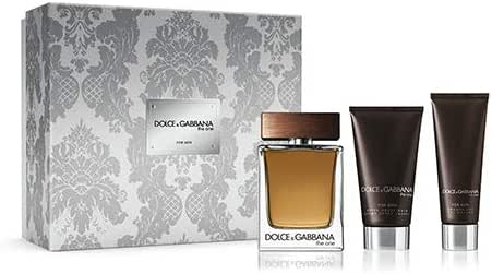 Dolce & Gabbana D & G The One 100ml EDT + 75 ml Aftershave + Shower Gel, 50 ml