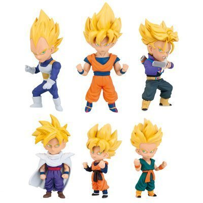 Banpresto Dragon Collectable Figure Saiyans