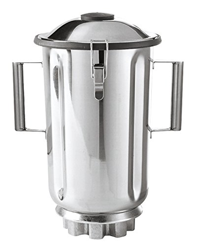 Hamilton Beach Commercial 6126-990 1 gal/128 oz./3.8 L Container, Stainless Steel by Hamilton Beach