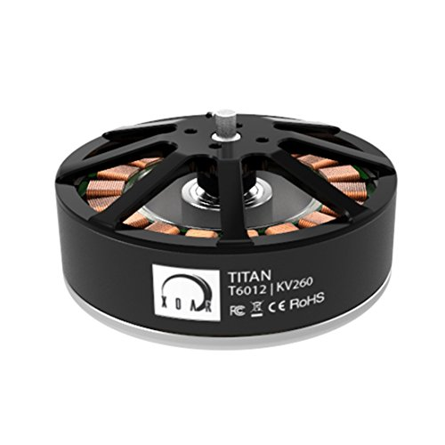XOAR Titan T6012 260KV Heavy Lifting Brushless Electric Motor T6000 Series for RC Multicopter Multi-Rotor Quadcopter Drone