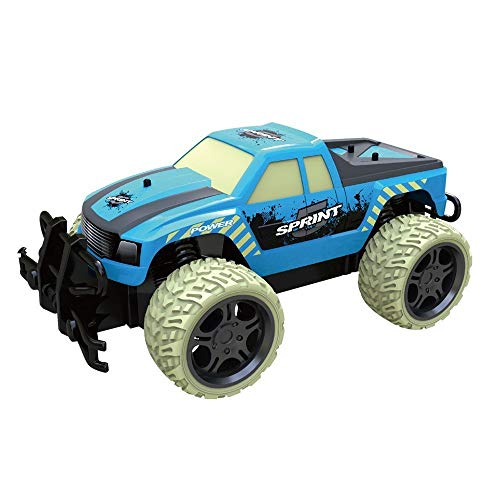 TOYEN RC Cars 4WD High Speed 1/18 Scale 2.4Ghz Radio Remote Rock Crawler Vehicle Control Off Road Buggy