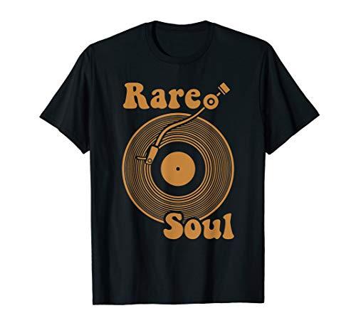- Rare Soul Music Vintage Old School DJ Turntable T-Shirt