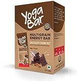 Yogabar Multigrain Energy Bars - 380gm (Chocolate Chunk Nut , Pack of 10, 38gm x 10 Bars)