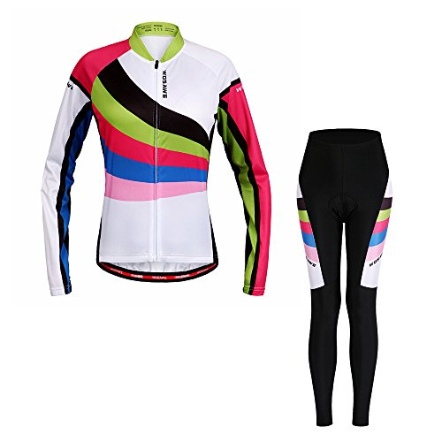 Bill Candy Women s Breathable Long Sleeve Cycling Jersey Fast Drying Mesh  Cycling Cloting Road Mountain Biking Breathable 42ff233da