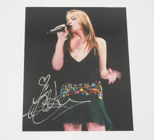 LeAnn Rimes How Do I Live Authentic Signed Autographed 8x10 Glossy Photo Loa
