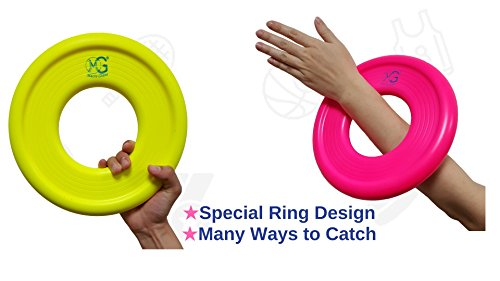 8 9 Toys For Birthdays : Macro giant 9 inch colorful soft foam frisbee ring flying disc set