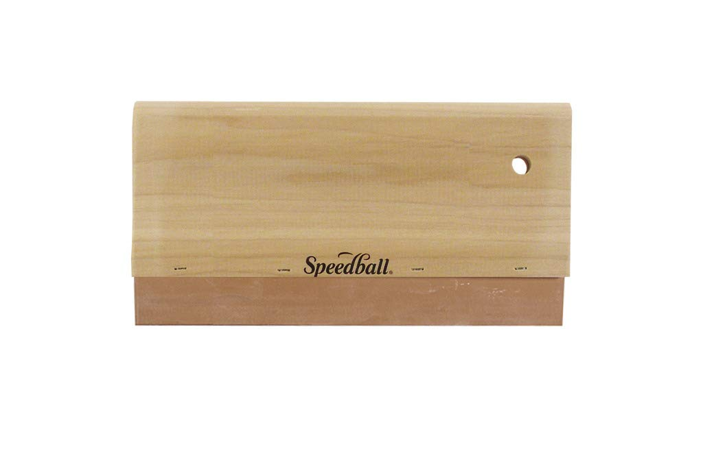 """10"""" Wood Handle Graphic Squeegee"""