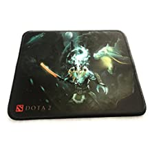 Gaming Mouse Pad Stiched Edges Anti-Slip 260x210 2mm / 10.2x8.3 0.08 inches – Dota 2 Design Mouse Mat for Desktop/Laptop