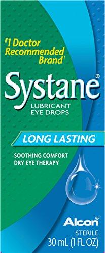 Systane Long Lasting Lubricant Eye Drops, 30-mL