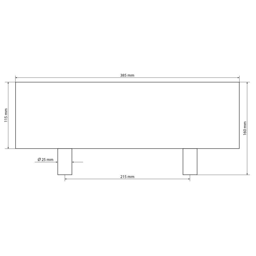 Kopf- und Nackenkissen fü r Badewanne Einbau - Festmontage SPA Modell 6175 AQUADE