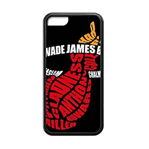 TYHde miami heat logos Hot sale Phone Case for iPhone iphone 5c Black ending