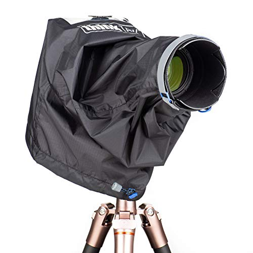 Tank Lens Photo Think - Think Tank Photo Emergency Rain Covers for DSLR and Mirrorless Cameras with up to a 70-200mm Lens - Medium