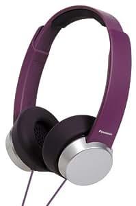 Panasonic Fashion Style On-Ear Stereo Headphones - Violet by Panasonic