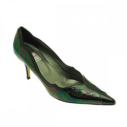 Renata Negro De Zapatos Petróleo Para Azul Vestir Mujer rqFrWBfZw