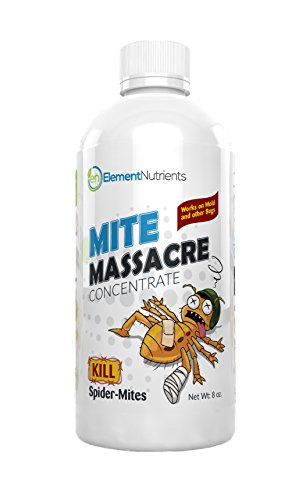 Mite Massacre 8 oz. Spider Mite Killer and Powdery Mildew Fighter - MAKES 8 GALLONS OF SPRAY