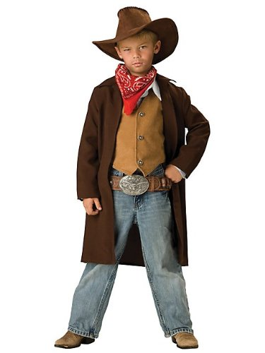 Incharacter Rawhide Renegade Costume - Medium