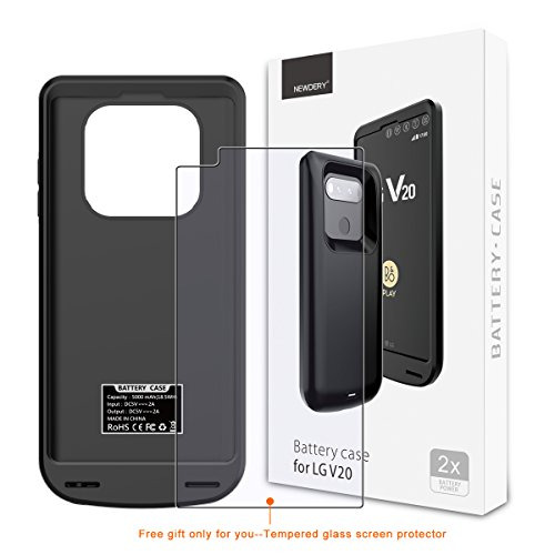 outlet store a7748 6b789 LG V20 Battery Case 5000mAh, Newdery V20 Protective Charger Case ...