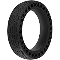 TOOGOO Durable Wheels Anti-Explosion Solid Rubber Tyre Front Rear Tire for Xiaomi Mijia M365 Electric Scooter Skateboard