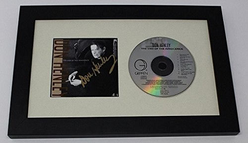 Don Henley Signed Autographed Music Cd Compact Disc Insert Custom Framed Display Loa