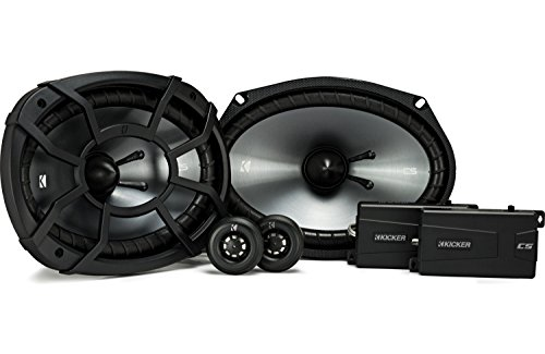 Kicker 43CSS694 CSS69 6x9-Inch Component System with .75-Inch tweeters, 4-Ohm (Kicker Component Speakers)