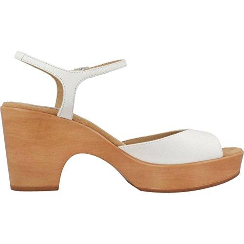 UNISA Sandalias y Chanclas Para Mujer, Color Blanco, Marca, Modelo Sandalias Y Chanclas Para Mujer ONTRAL 18 St Blanco Blanco