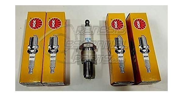 Juego de 4 Tapones-NGK Spark Para Mazda RX8 2 X RE8CL y 2 X RE9BT