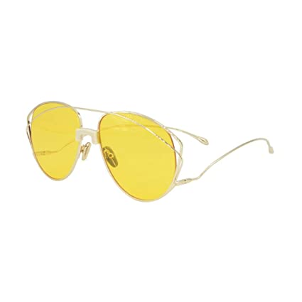 ODSHY Gafas Amarillas Transparentes con Montura Femenina ...