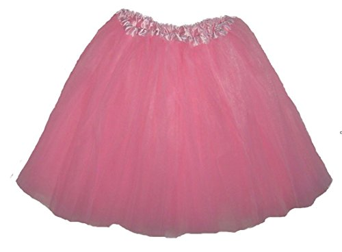 Womens Plus Size Ballet Tutu Waist 28-56 Length 16-17 by Southern Wrag Company (Light Pink) (Costumes From The 80s)
