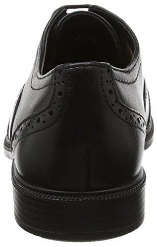 Black Stringate Scarpe Village Hotter Black Basse Brogue Donna YP7Oqw