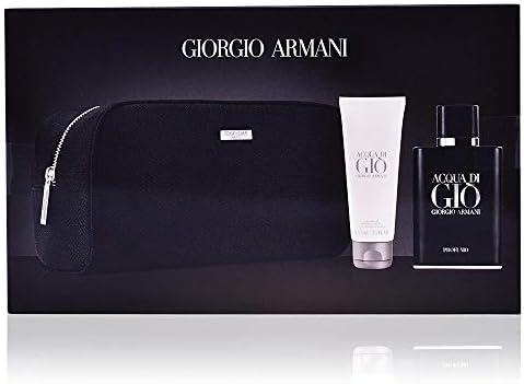 Giorgio Armani Acqua Di Gio Profumo Set con Estuche - 3 Unidades: Amazon.es: Belleza