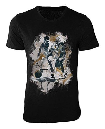 Basketball I T-Shirt stilvolles Designershirt von Paul Sinus