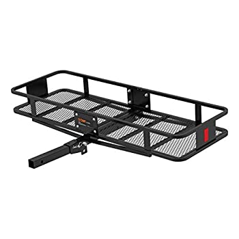 Image of Cargo Baskets CURT 18151 Basket Trailer Hitch Cargo Carrier 500 lbs. Capacity Style