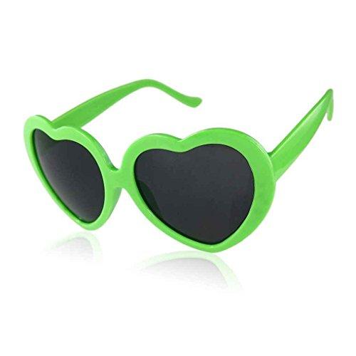 Forma Gafas la corazón Zerama Sol Diseño Lindo del de de Amor ZAUIqwT