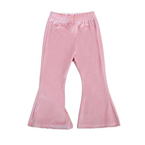 Velvet Bell Bottom Pants - 9