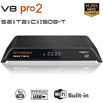 Amazon com: GTMEDIA V9 Full HD DVB-S2 Freesat Satellite