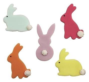 Ostern Hase Kaninchen Cupcakes Kuchen Deko X 5 Amazon De Kuche